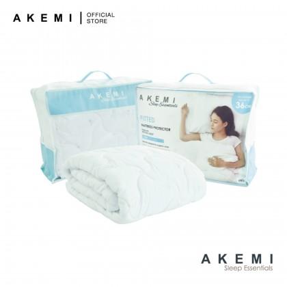 AKEMI Sleep Essentials Fitted Mattress Protector Super Single
