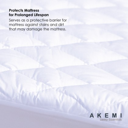AKEMI Sleep Essentials Fitted Mattress Protector King