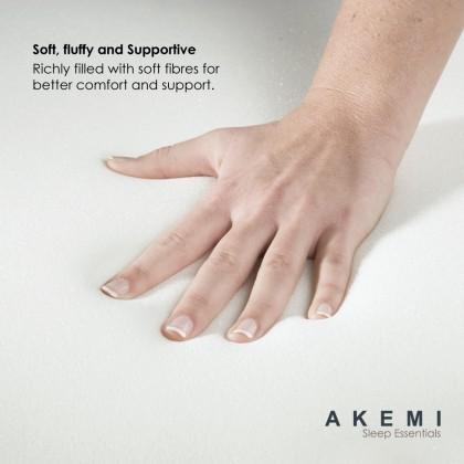 AKEMI Sleep Essentials Microfil Bolster