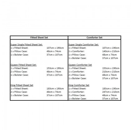 AKEMI Cotton Essentials - Fitted Bedsheet Set 700TC (Enclave Joy, Lixxel)