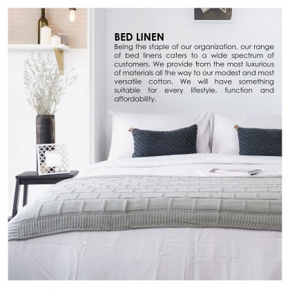 AKEMI Cotton Essentials - Fitted Bedsheet Set 700TC (Enclave Joy, Spring Heart)