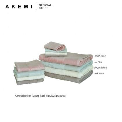 AKEMI Cotton Select Bamboo Cotton Face Towel (33cm x 33cm)