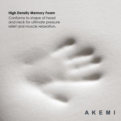 AKEMI Duo Cool Contour Memory Pillow