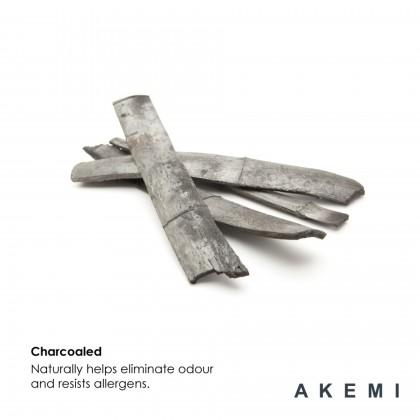 AKEMI Flexi Charcoaled Bamboo Memory Pillow