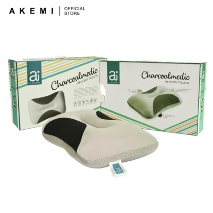 Ai by AKEMI Charcoalmedic Memory Pillow