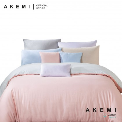 AKEMI Cotton Select Endear Valencia Fitted Bedsheet Set 730TC (Dobby)