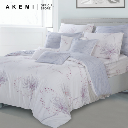 AKEMI Cotton Select Adore Denderion Fitted Bedsheet Set 730TC