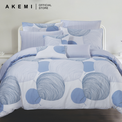 AKEMI Cotton Select Adore Shellea Fitted Bedsheet Set 730TC