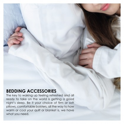 AKEMI Sleep Essentials Fitted Bolster Protector