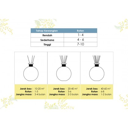 AKEMI Ever Sense Reed Diffuser Home Fragrance (Bundle Set of 2)