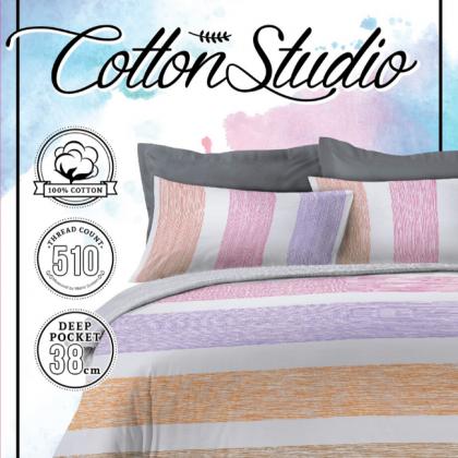 Cotton Studio Comforter Set 510TC (Queen/ King)