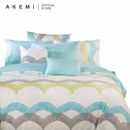 AKEMI Cotton Select - Fitted Bedsheet Set 730TC (Adore- Corben)