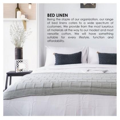 AKEMI Cotton Select - Fitted Bedsheet Set 730TC (Adore- Marieke)