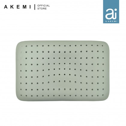 Ai by AKEMI Charcoaled Ventilated Classic Memory Pillow