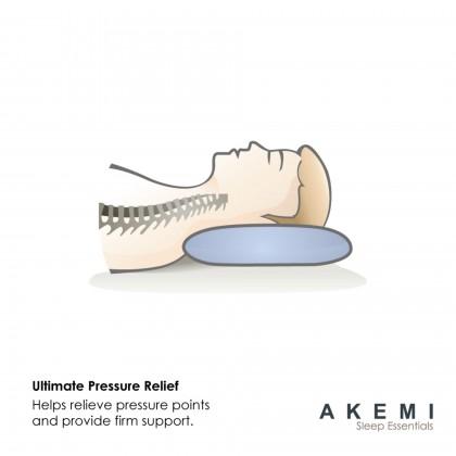 AKEMI Sleep Essentials Children Air Vent Latex Pillow
