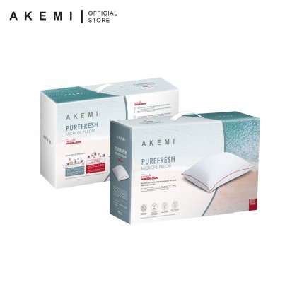 AKEMI HeiQ Viroblock PUREFRESH Microfil Pillow