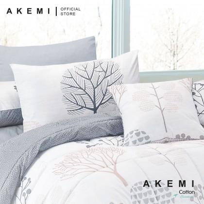 AKEMI Cotton Essentials Enclave Joy Fitted Bedsheet Set 700TC (King/Queen/SuperSingle)