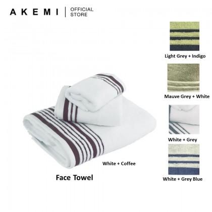AKEMI Cotton Luxe Avant Lux Hotel Face Towel (33cm x 33cm)