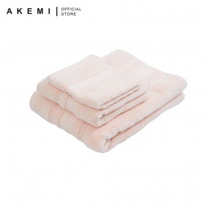 AKEMI Ultra Absorbent Airloop Cotton Bath Towel (70cmx140cm)