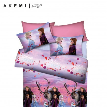 AKEMI Frozen Movie II Believe In The Journey Comforter Set 480TC (Queen/Super Single)