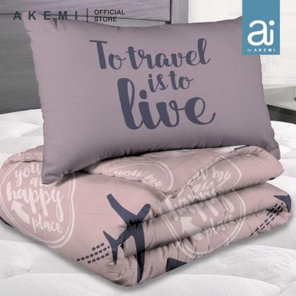 Ai by AKEMI Joyvibes Comforter Set 480TC (Super Single/ Queen/ King)