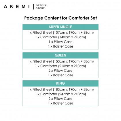 AKEMI Cotton Essentials Embrace Charm Comforter Set 650TC