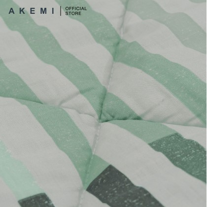 AKEMI Cotton Essential Embrace Charm Fitted Bedsheet Set 650TC (Super Single/Queen/King)