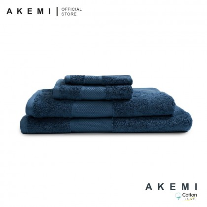 Akemi Silky Soft Egyptian Cotton Hand Towel (41cm x 76cm)