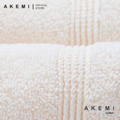Akemi Ultra Absorbent Airloop Cotton Bath Towel (70cm x 140cm)